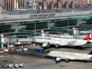 Atatürk Havalimanı'nda kaza