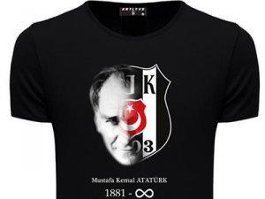 Beşiktaş'tan Atatürk anısına özel tişört
