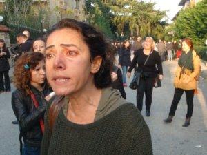 Validebağ'da kadın eylemcilere polisten gazlı müdahele!