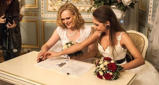 Rusya'da ilk eşcinsel evlilik