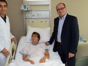 Alman vatandaş ameliyat için Türkiye'yi tercih etti