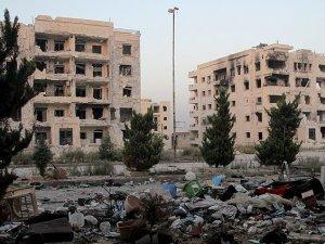 Halep'te birçok bina hasar gördü