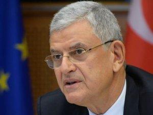 Bakan Bozkır: Kıbrıs tasarısını tanımıyoruz