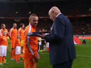 Sneijder'e büyük ödül
