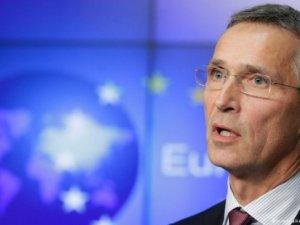 NATO Genel Sekreteri, Vladimir Putin'e sert sözlerle yüklendi.