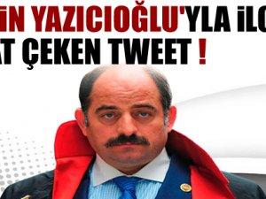 Zekeriya Öz'den çarpıcı tweet