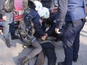 Ankara Üniversitesi'nde olay çıktı
