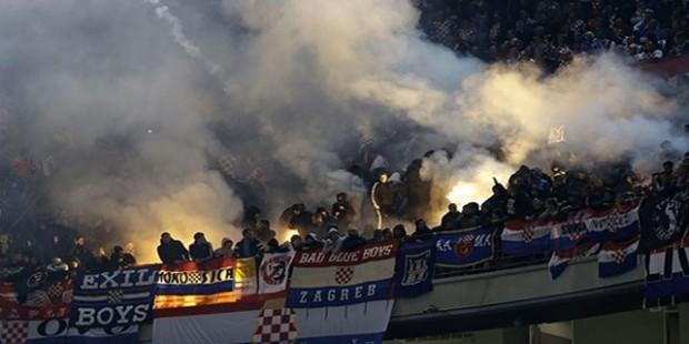 İtalya- Hırvatistan maçında olay