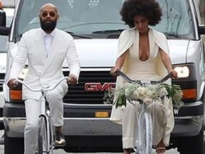Beyonce'nin kardeşi evlendi