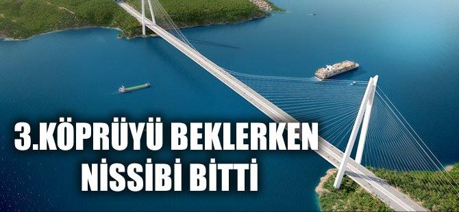 Türkiye'nin 3. büyük köprüsünde sona gelindi