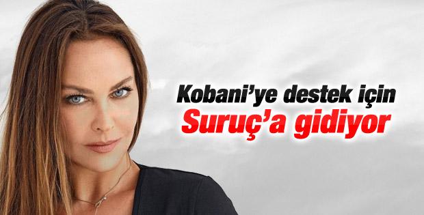 Hülya Avşar Suruç'a gidiyor