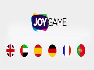 Joygame, 5 dil seçenegiyle Avrupa'da