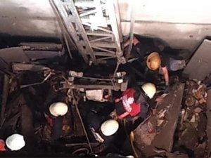 Yine bir asansör faciası: 1 işçi öldü 3 işçi ağır yaralı