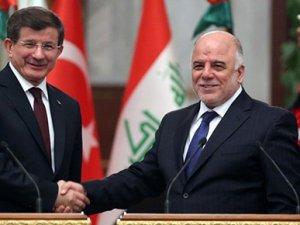 Ahmet Davutoğlu, Irak Başbakanı'yla görüştü