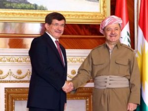 Erbil'de kritik buluşma: Davutoğlu, Barzani ile...