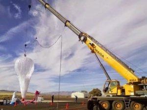 Google'ın balonları internet taşımaya hazır