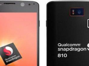 Snapdragon 810 işlemcili ilk telefon