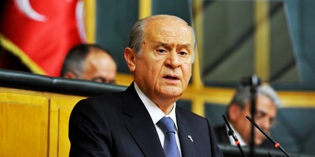 Bahçeli: Davutoğlu Erdoğan'ın kötü bir kopyası