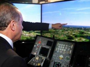 Erdoğan'ın yakından incelediği zırhlı araç