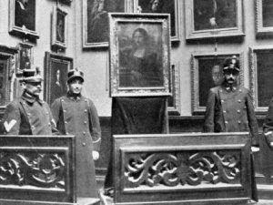 Mona Lisa'yı Naziler'den korudular
