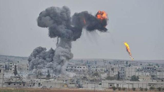 IŞİD, Suriye ve Irak'ta bombalandı!
