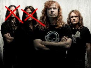 Megadeth'ten iki ayrılık