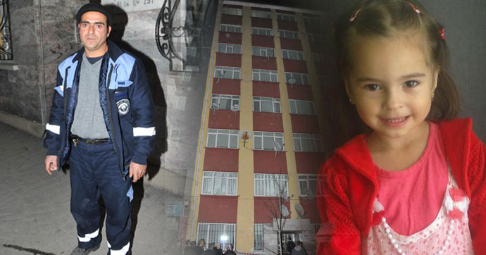 7'nci kattan düşen çocuğu kollarını açıp kurtardı!