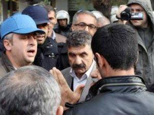 DBP İl Başkanı ile polis müdürünün sert diyaloğu