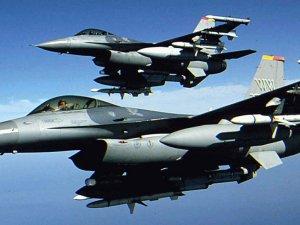 Merzifon'da F-16 düştü