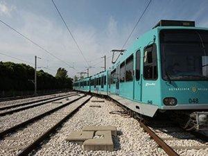 Bursa'ya 30 yıllık ikinci el tren