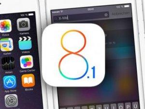 iOS 8.1 geri dönmek artık imkansız