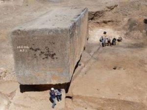 En büyük antik taş bulundu