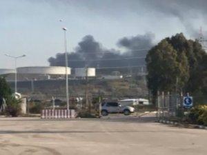 BOTAŞ tesislerinde dev yangın!