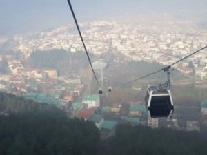 Dünyanın en uzun teleferiği Bursa'da