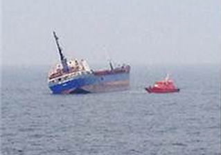 MDF yüklü gemi Tuzla açıklarında yan yat