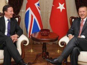 İngiltere Başbakanı Cameron, bugün Türkiye'de