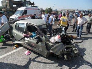 Afyon'da feci kaza: Çok sayıda yaralı