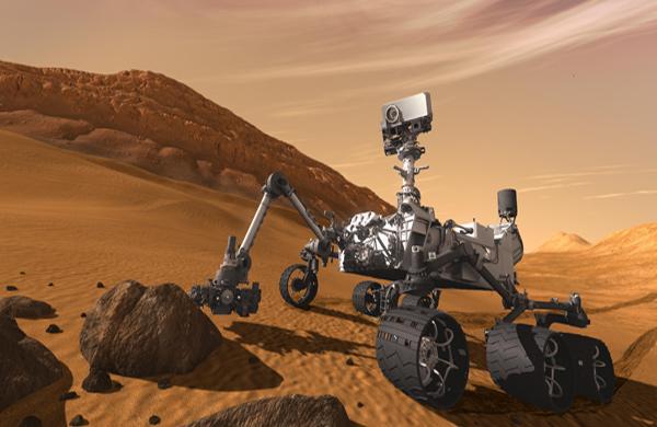 Mars'taki dağın sırrı çözüldü