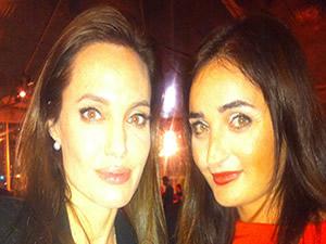 Jolie ve Atasoy bir arada