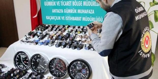 Gümrük Bakanlığı'ndan 'kaçak saat' savunması