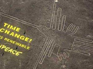 Peru'da Greenpeace skandalı