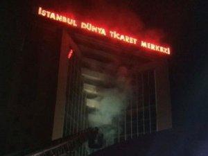 Dünya Ticaret Merkezi'nde çok hassas yangın!