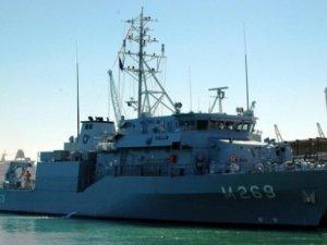 TCG Mayın gemisi Anamur'a gelecek