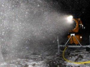 2 milyon dolarlık makineyle kar yağdıracak