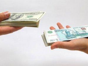 Rusya Ruble'ye müdahale etti