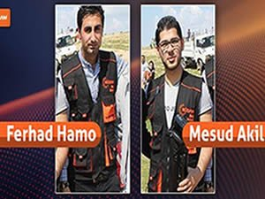 IŞİD, Rudaw'ın iki muhabirini kaçırdı