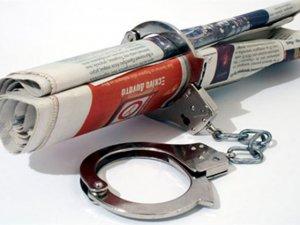 Tutuklu gazeteci sıralamasında 10'uncu sıradayız!
