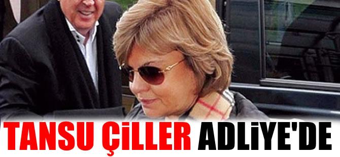Eski Başbakanlardan Tansu Çiller adliyede