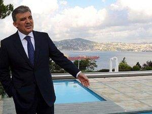 Abdullah Gül Huber'e veda ediyor