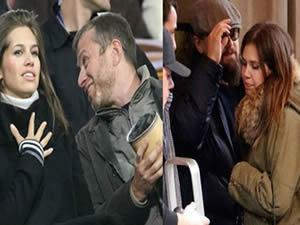 Abramoviç'in sevgilisi Leo'yla birlikte